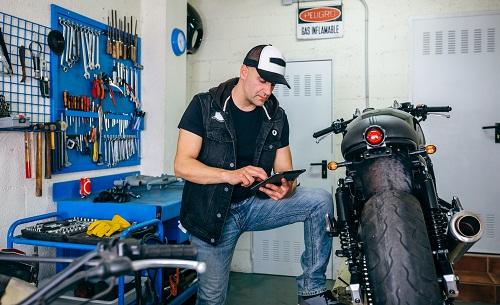 Plaquette de frein moto